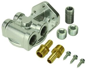 15709 Engine Oil Filter Remote Mounting Kit Derale 15709