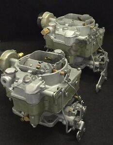 1956 Cadillac Eldorado Carter Wcfb Carburetor Remanufactured