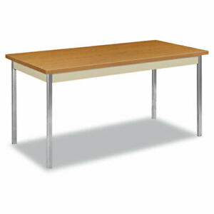 Utility Table Rectangular 60w X 30d X 29h Harvest putty