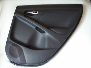 2009 2010 Matrix Door Panel Trim Right Rear Black