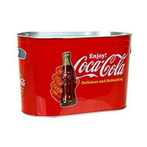 Officially Licensed Coca-Cola Delicious and Refreshing Oblong Ice Bucket