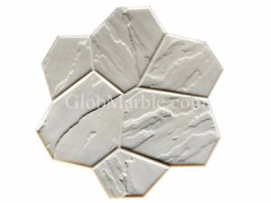 Concrete Stamp Flex Floppy Mat Form Sm 1901 4 Decorative Concrete Random Stone