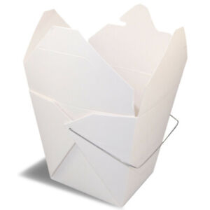 Fold pak Paper Take Out Container 16 Oz Qty 500 white