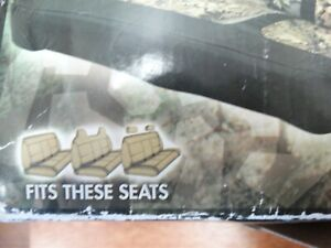 Cabela S Universal Front Bench Seat Cover Rugged Mossy Oak Colored