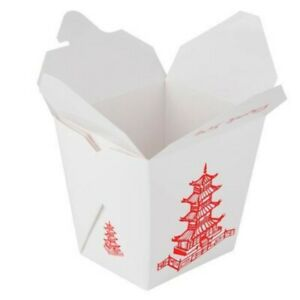 Fold pak Paper Take Out Container 16 Oz Qty 500
