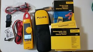 New Fluke 365 True rms Ac Clamp Meter With Detachable W Case And Tpack