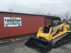 2007 Asv Rc100 Compact Track Skid Steer Loader W High Flow