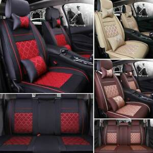 Car Seat Cover Cushion Protector Summer Beads Mesh For Sedan Suv Cooling Comfy