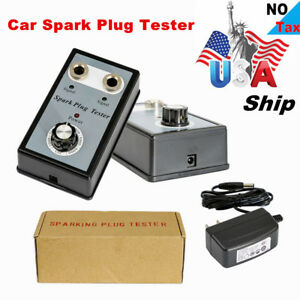 Usa Ship Car Spark Plug Tester With Double Hole Detector Ignition Plug Analyzer