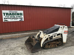 2013 Bobcat Mt55 Stand On Track Skid Steer Loader Only 1100 Hours