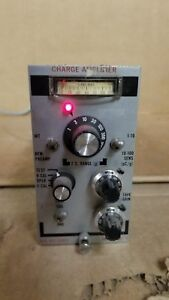 Unholtz dickie D22pms Charge Amplifier Powers Up