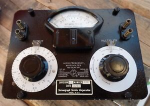 General Radio Audio Frequency Microvolter 546 c