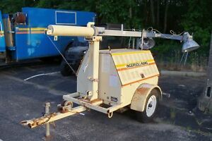 Ingersoll rand Sl4060d 4mhm Tow Behind Tower Light