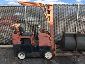 Allis chalmers Ac Ft 25 3 000 Lb Fork Lift Truck 145 Hrs Yale Hyster