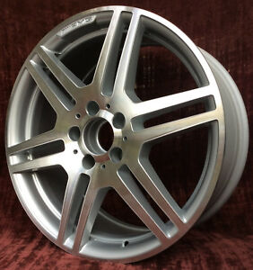 Mercedes E350 E550 10 11 12 13 Oem 18 X 8 5 Wheel 85126 Rear Amg A2074011402