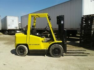 Hyster H80xm 8k Industrial Warehouse Forklift
