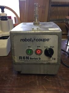 Robot Coupe R6n Food Processor For Parts