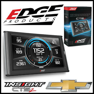 Edge Products Insight Cts2 Gauge Monitor For 1999 2019 Chevy Silverado Trucks