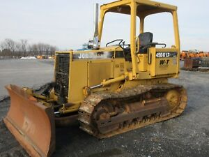 1998 John Deere 450g Lt Iv Rops 6 Way Blade Very Straight Clean 5582 Hours