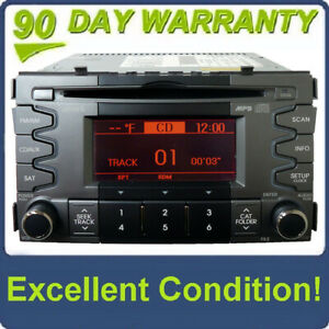 11 10 Kia Soul Radio Xm Satellite Sirius Bluetooth Mp 3 Cd Disc Player 2010 2011