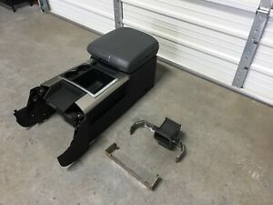 2009 2017 Dodge Ram 1500 2500 3500 Gray Center Flow Console With Brackets