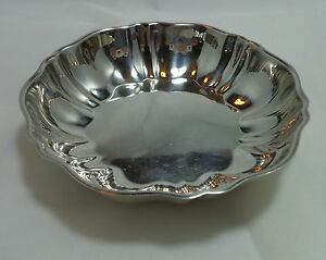 Candy Dish 5 Inch Fluted By Community Silverplate