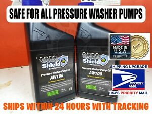 32 Oz Universal Pressure Washer Pump Oil Aw100 Cat General Comet Annovi