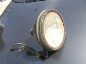 1914 S M Lamp Co No 90 Vintage Automobile Light Los Angeles Rat Rod