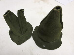 Mb Gpw Willys Ford Wwii Jeep G503 Leather Tranmission Boot And Transfer Boot