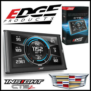 Edge Products Insight Cts2 Gauge Monitor For 1999 2015 Cadillac Escalade