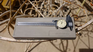 Mitutoyo 505 637 50 Dial Caliper 001 6 With Case