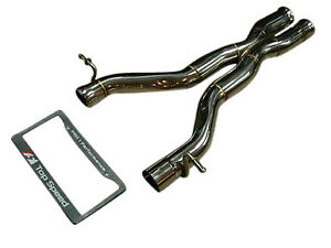 Fit Mercedes Benz W204 C63 Amg V8 08 14 Top Speed Pro 1 Race track Mid X Pipe