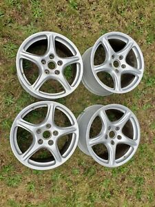 Factory Porsche 911 997 Carrera 19 Inch Wheel Set 19x8 Front And