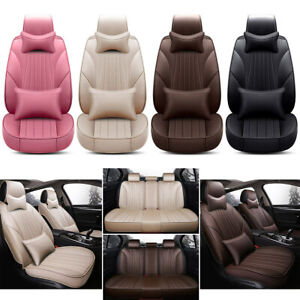 Deluxe Car Seat Cover Set Protector Cushion Interior Accessory Leakproof Pad