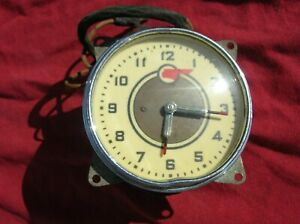 Chevy Gm Pontiac Buick Clock 1935 1936 1937 1938 1939 Guide Light Passing Lamp