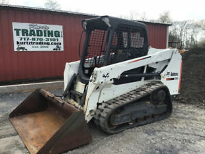 2015 Bobcat T550 Compact Track Skid Steer Loader Only 500 Hours