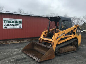 2007 Mustang Mtl16 Compact Track Skid Steer Loader W Joystick Controls