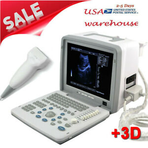 B Ultrasonic Portable 12 1 Led Ultrasound Scanner Machine With Linear Probe Fda