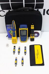 Fluke Networks Microscanner 2 Network Cable Tester Micro Scanner Two 2