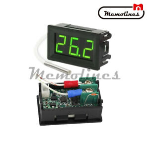 B310 Digital Green Led Display Thermometer Temperature Meter K type Thermocouple