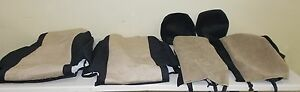 Caltrend Front Bucket Custom Fit Seat Covers Jeep Wrangler Jp187 06 2011 2012