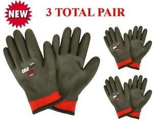 Cordova 3915 Cold Snap Xtreme Winter Work Glove Lined Sizes Lg Or Xl 3 Pair