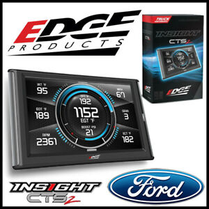 Edge Products Insight Cts2 Gauge Monitor For 1994 2019 Ford F 250 F 350 F 450