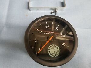 Force Protection Electric Tachometer 0 30 Rpm X100 Gauge Meter