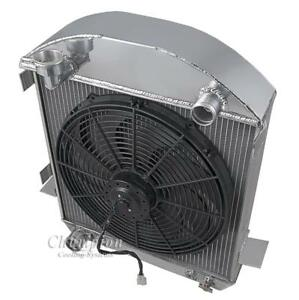 3 Row Discount Radiator W 16 Fan For 1917 1927 Ford Model T Ford Configuration