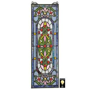 Design Toscano Palais Royal Tiffany Style Stained Glass Window
