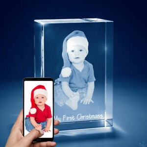3d Laser Engraved Crystal Personalized Gift Medium Tower Shape