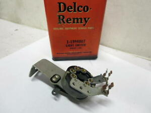Vintage Delco Remy Chevy Chevrolet Truck 1939 Headlight Switch Nos 1994007
