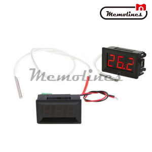 B310 Digital Thermometer Industrial Temperature Meter K Type Thermocouple Dc 12v