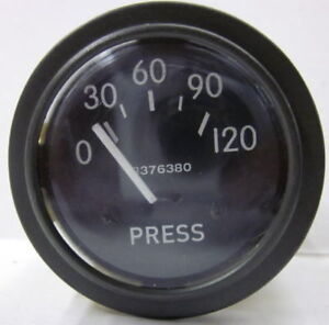 Willys Jeep M38 M38a1 G758 Dodge M37 G741 24 Volt 0 120 Oil Pressure Gauge